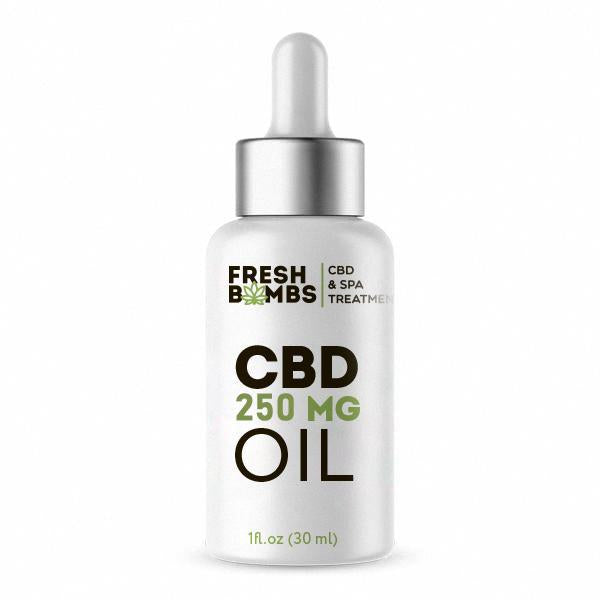 FRESH BOMBS CBD OIL 250MG - 30ML
