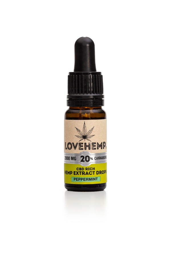 LOVE HEMP CBD OIL PEPPERMINT