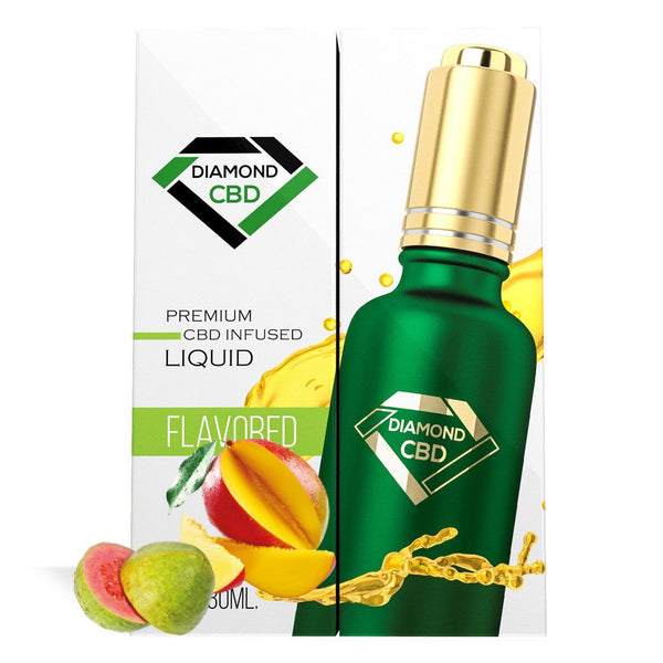 DIAMOND CBD OIL MANGO AND GUAVA