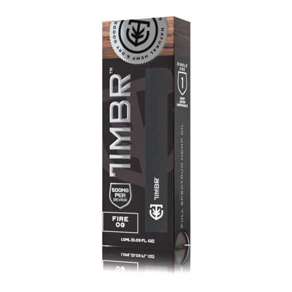 TIMBR CBD DISPOSABLE VAPE PEN FIRE OG - 500MG