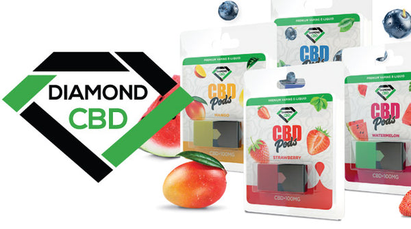 DIAMOND CBD POD BLUEBERRY- 100MG