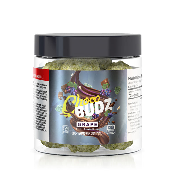 CHOCO BUDZ CBD INFUSED GRAPE CHOCOLATE