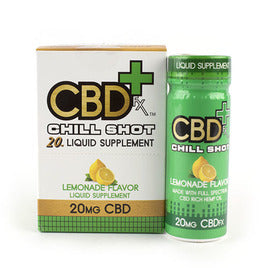 CBDFX CBD CHILL SHOT 20MG LEMONADE FLAVOUR