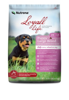 Loyall Life Large Breed Puppy Chicken & Brown Rice 40 lbs.