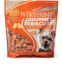 Sportmix Wholesomes Grain Free Gourmet Cheddar Cheese Biscuits 3 lbs.
