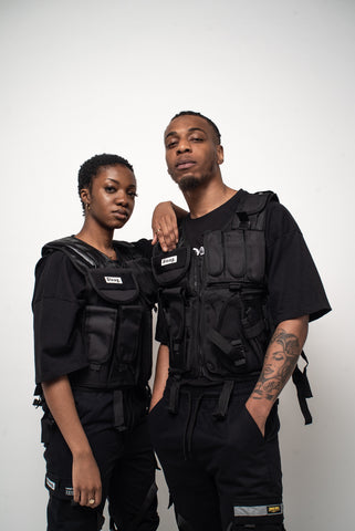 """Fully Loaded"" Glow in the dark Tactical Vest"