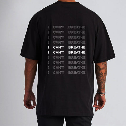 'I CAN'T BREATHE'