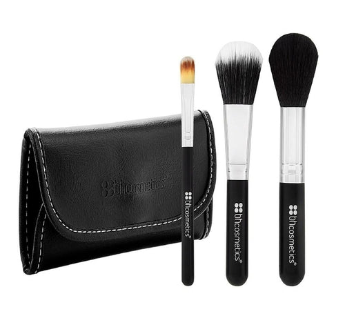Bh face essential to go 3piece brush set