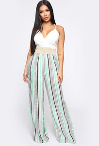 Fashionova sharon striped jumpsuit