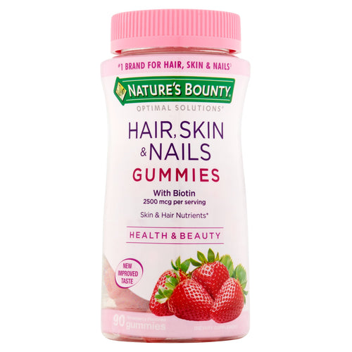 Nature's Bounty Optimal Solutions Hair, Skin, & Nails