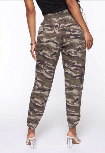 Fashionova focus on me camo pant