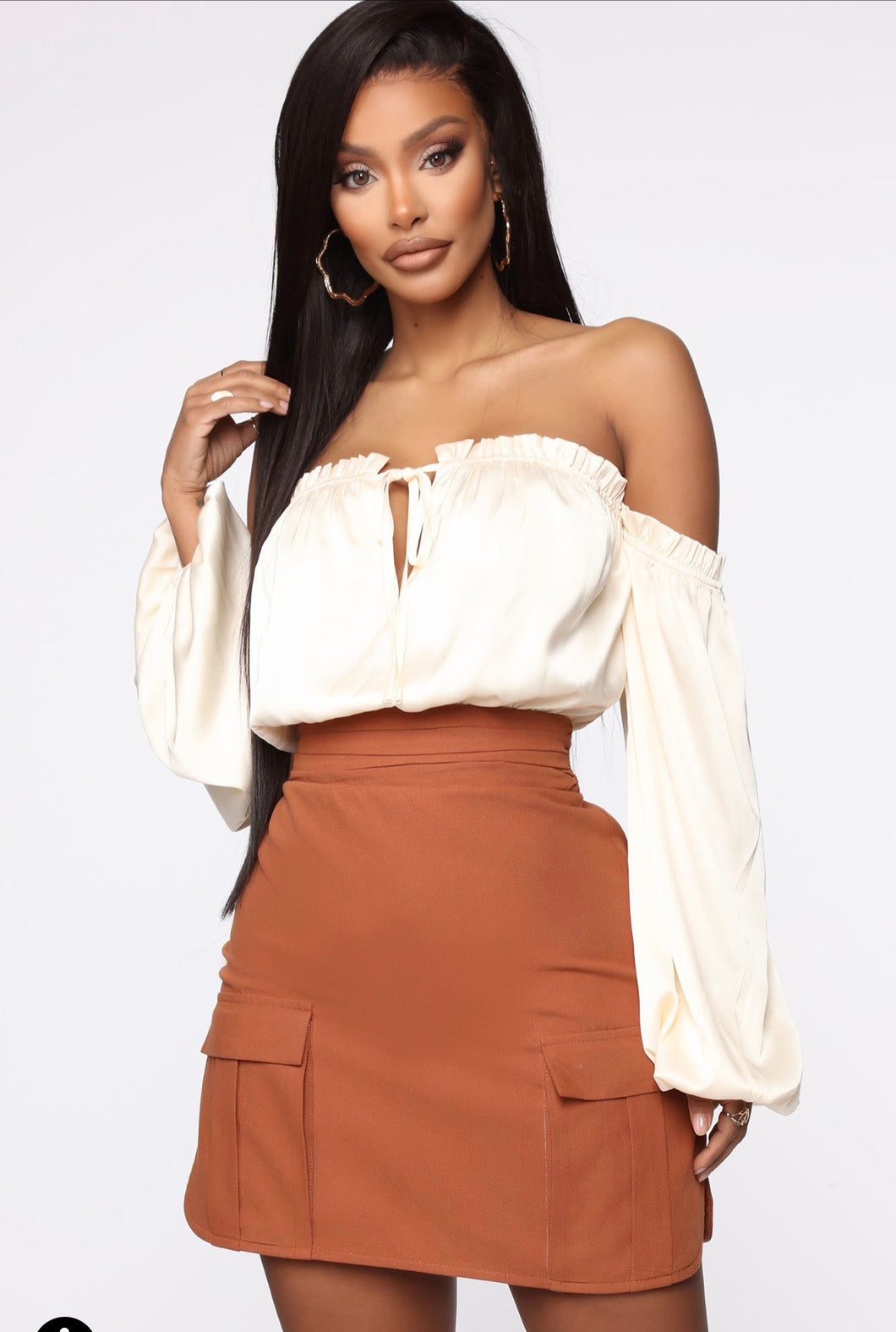 Fashionova late night shift off shoulder mini dress