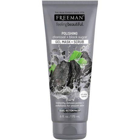Freeman Feeling Beautiful Polishing Mask Charcoal & Black Sugar 6.0 fl oz