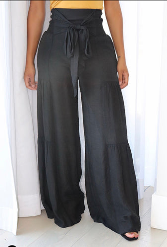 Fashionova walk along the shore flare pant