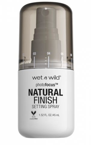 Wet n wild Photo Focus Natural Finish Setting Spray