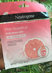 Neutrogena pink grapefruit acne prone skin mask