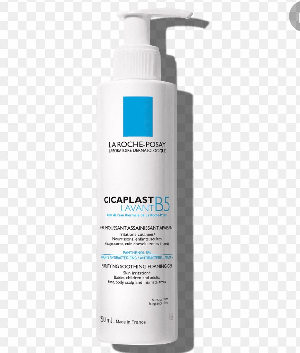 La roche Cica plast B5 purifying soothing foaming gel