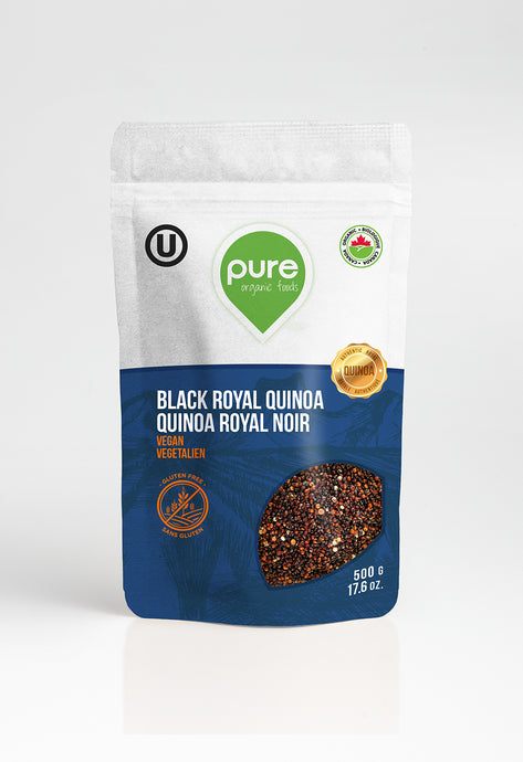 ORGANIC BLACK ROYAL QUINOA (500g)