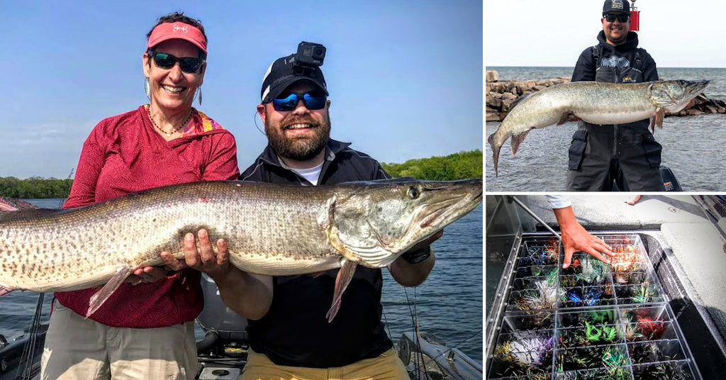 57-inch MONSTERS – Saric's Summer Tips – Musky Bucktail Tips – PMTT Details
