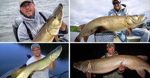 How the pros are fishin' on Northern WI Opener! (plus some big fish pics)