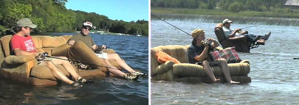 Fishing from your couch