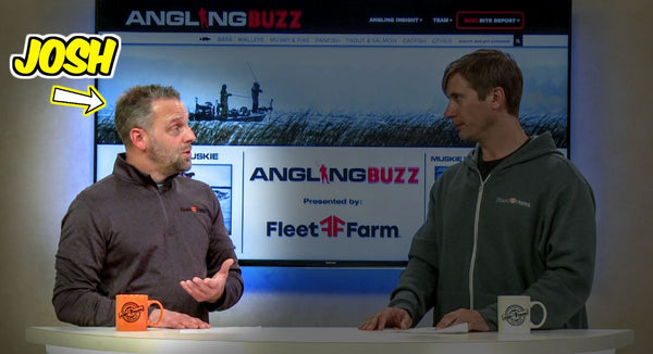 Josh Borovsky on AnglingBuzz