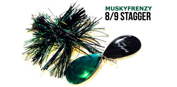 MuskyFrenzy 8/9 Stagger Bucktail