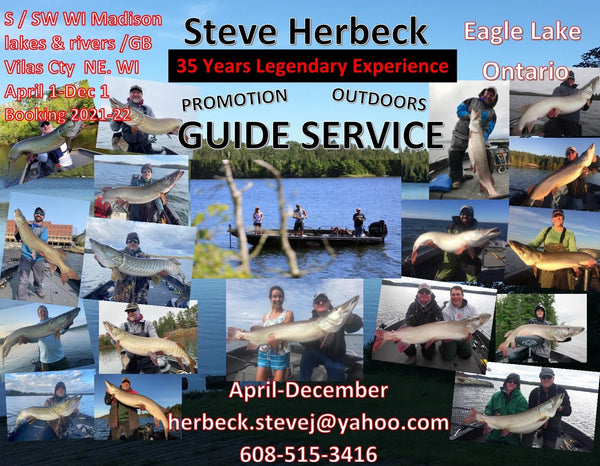 Steve Herbeck Musky Guide