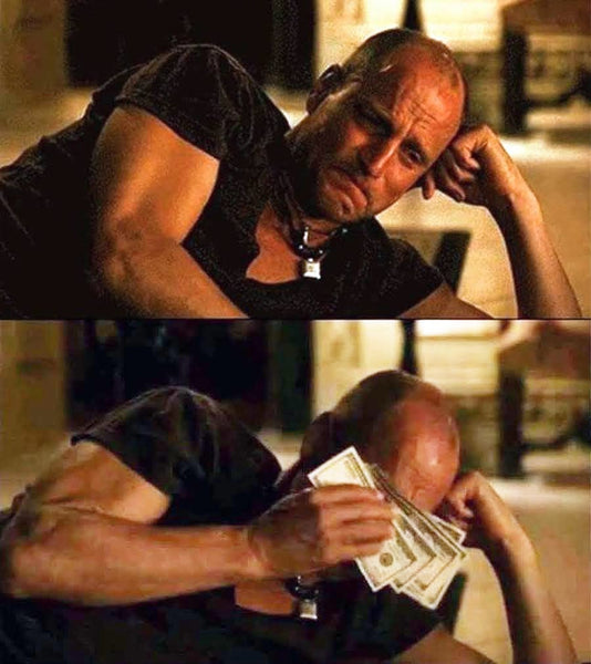 Wiping Tears with Money