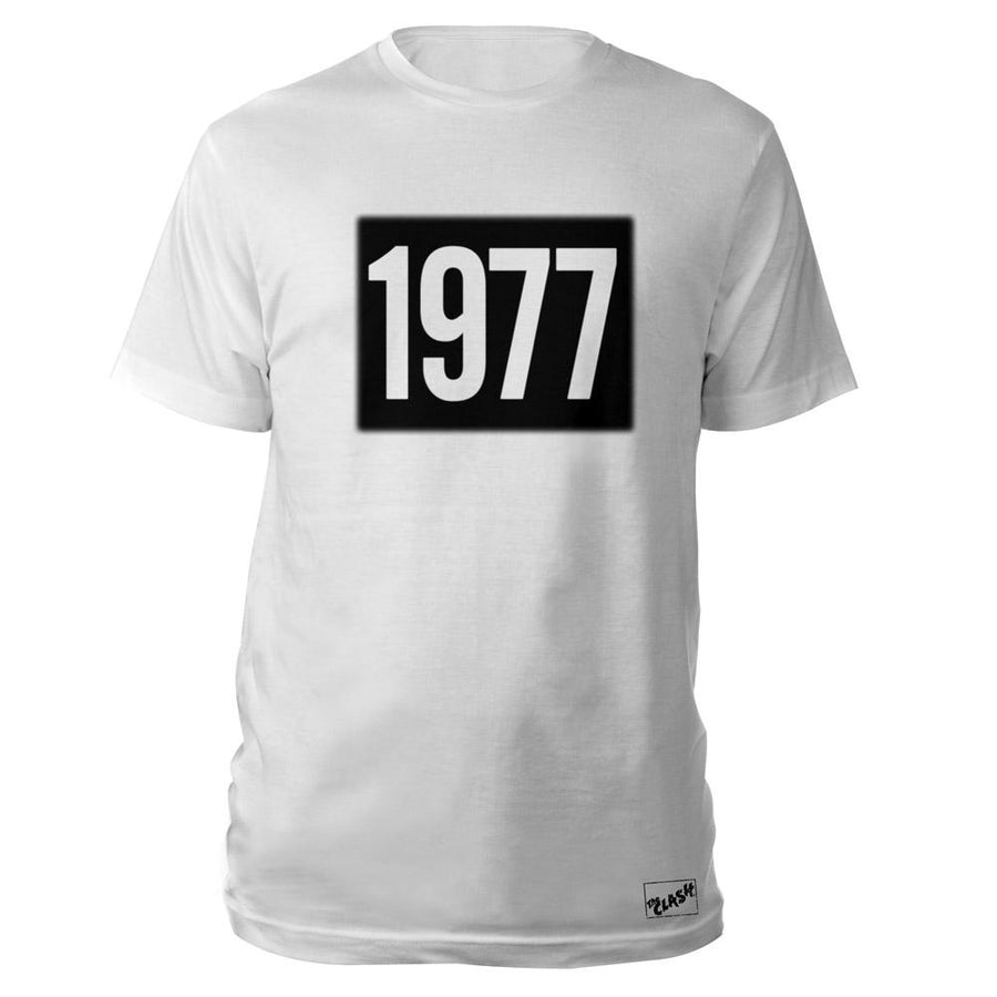 1977 White T-Shirt-The Clash