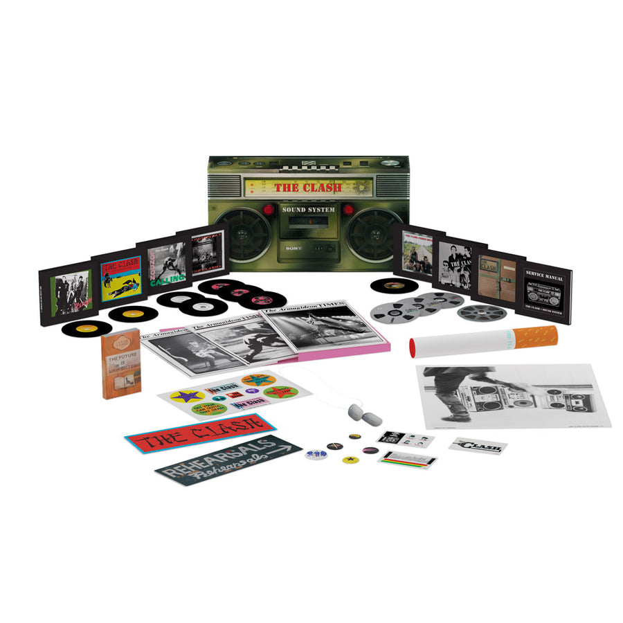 The Clash Sound System Box Set-The Clash