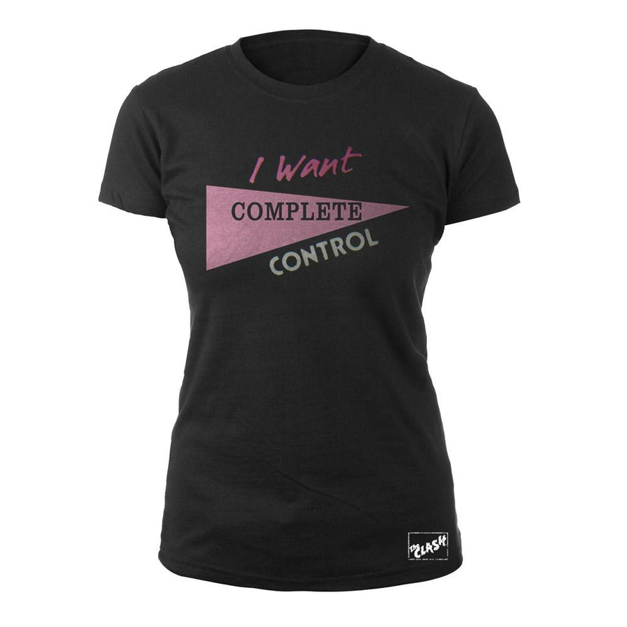 Complete Control Ladies T-Shirt-The Clash