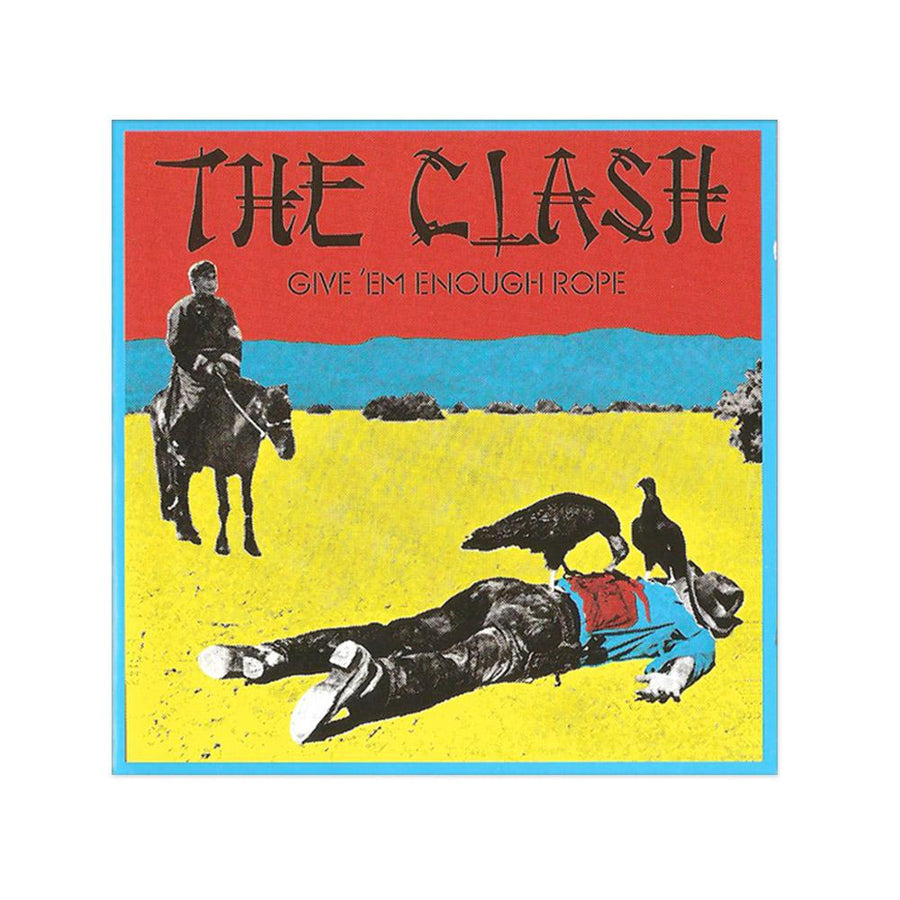 Give Em Enough Rope Poster-The Clash