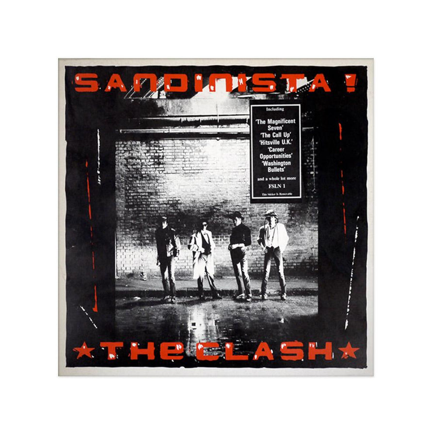Sandinista! Poster-The Clash