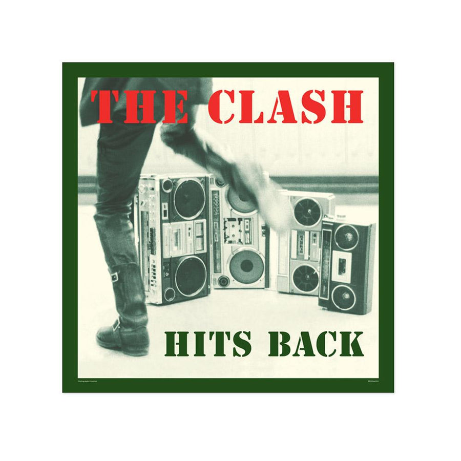 Hits Back Poster-The Clash