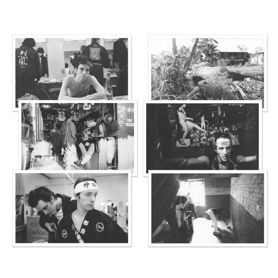 Set of 6 Postcards-The Clash