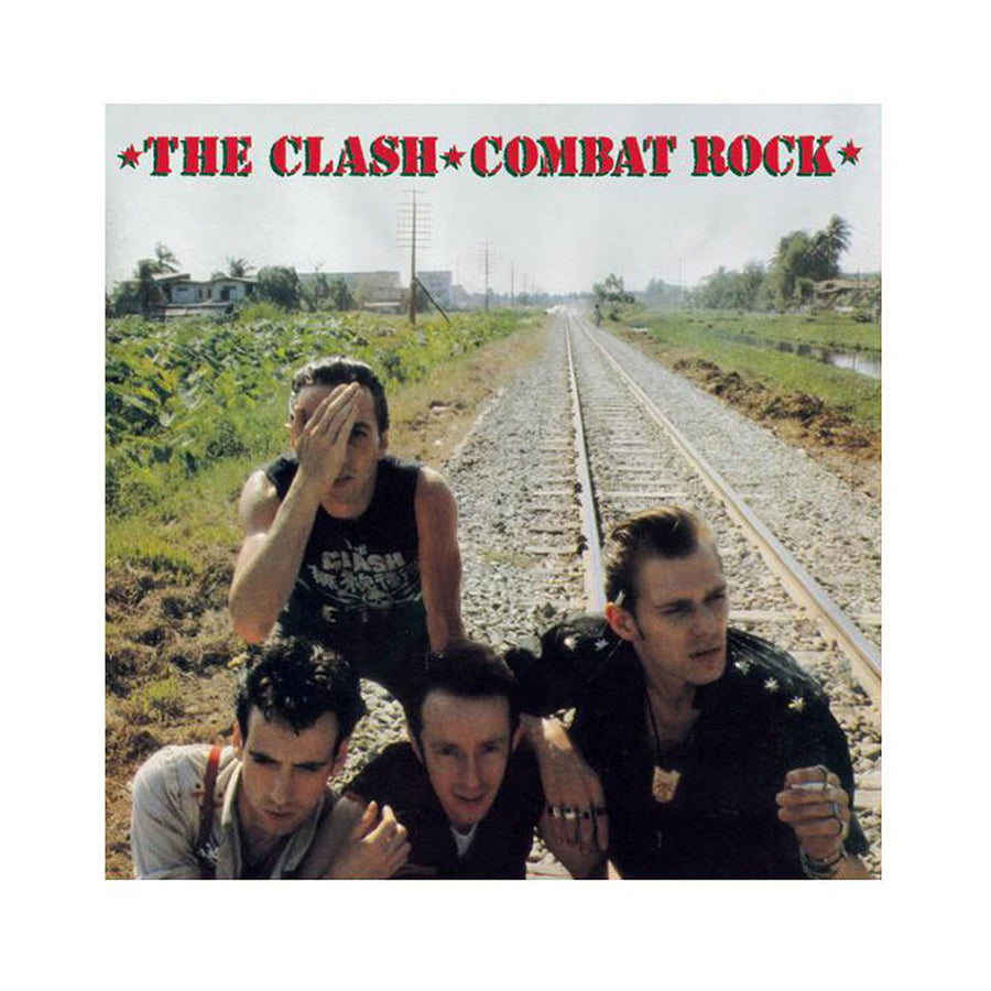 Combat Rock Poster-The Clash