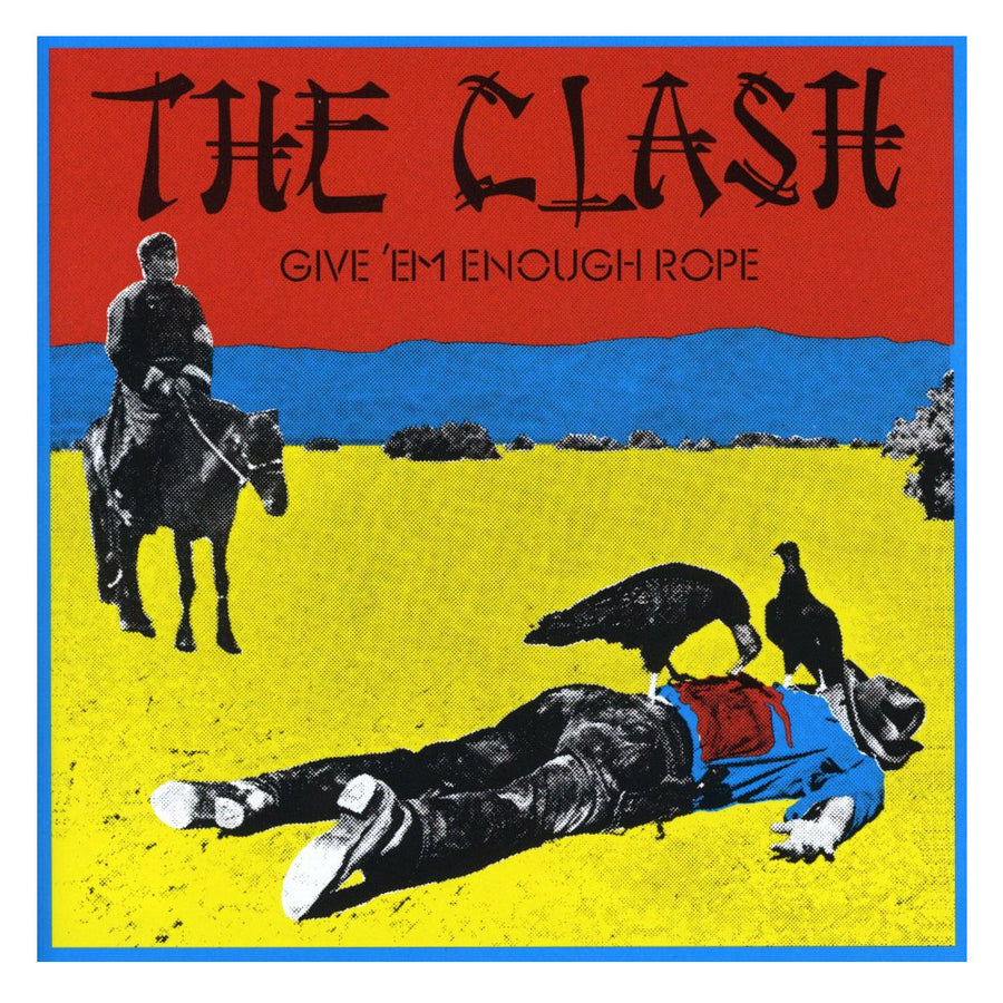 Give Em Enough Rope LP-The Clash