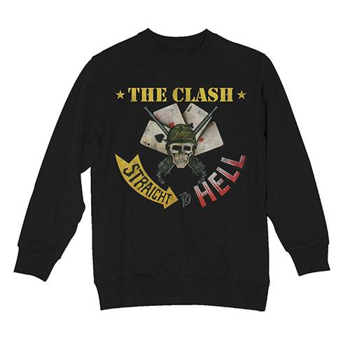 Straight To Hell Sweatshirt-The Clash