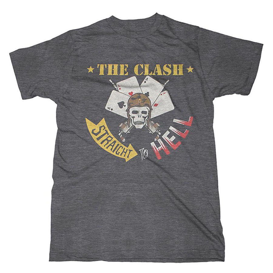 Straight to Hell T-Shirt-The Clash
