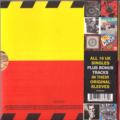 The Singles 19 CD Boxset-The Clash