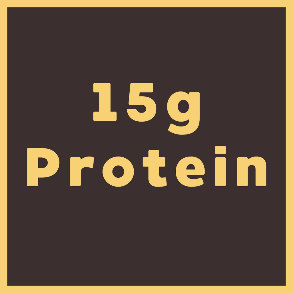 15 grams of protein bar icon