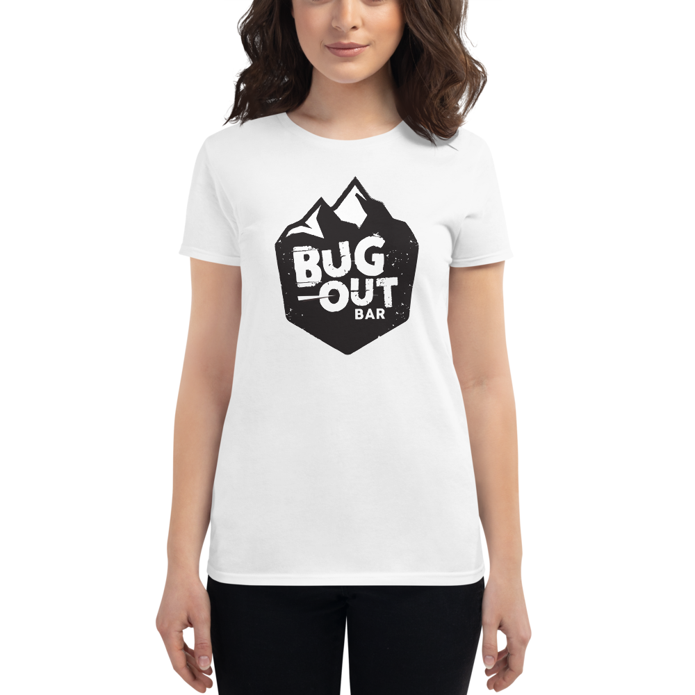 Women's Logo T-Shirt (Black and White)