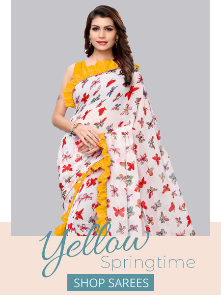 Shop Designer Sarees Online in India - YOYO Fashion
