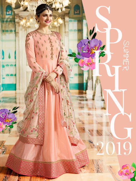9eef713cdc Shop from the Latest Spring Summer Collection of Designer Anarkali Suits  Online @ YOYO Fashion.