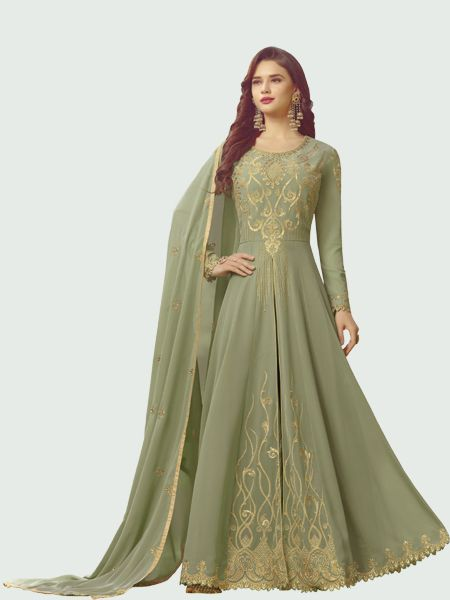 Buy Designer Anarkali Salwar Suit Online - YOYO Fashion