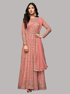 Shop Sonal Chauhan Designer Pink Anarkali Suits Online in India from YOYO Fashion