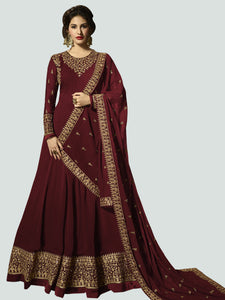 Latest Red Anarkali Dress Online - YOYO Fashion