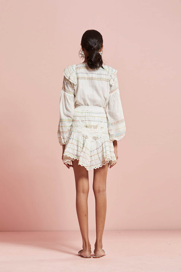 Thea frilly skirt