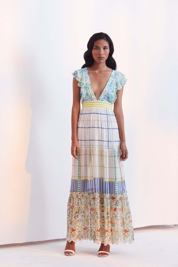 Odyssey Tiered Maxi Dress